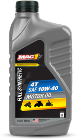 2-CycleSmallEngine&RecreationalVehicles_MotorcyclesScootersMarineandPowersports_MAG14T10W-40MotorOil_1QT_69259_front