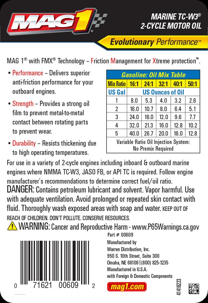 MAG 1® Marine TC-W3 2-Cycle