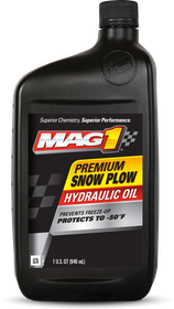MAG 1® Snow Plow Hydraulic Oil Front