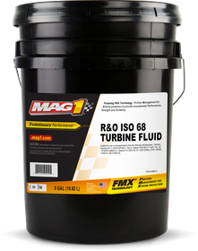 MAG 1® Industrial R&O ISO 68 Turbine Oil Front