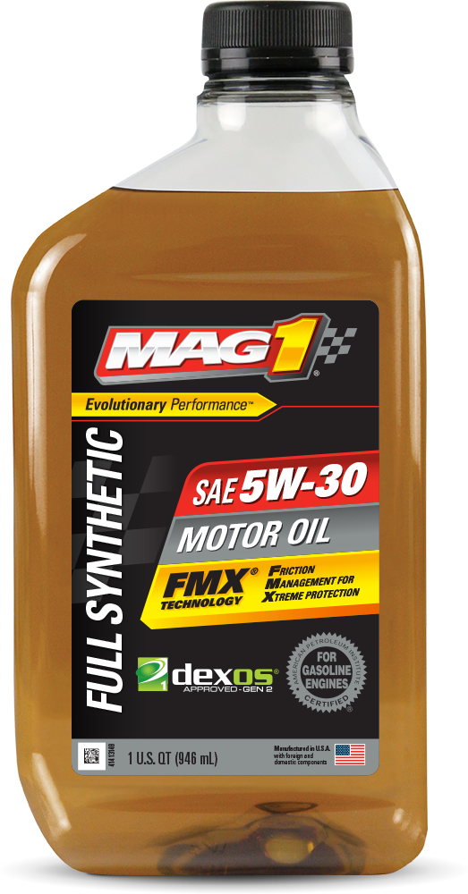 MAG 1® Full Synthetic 5W-30 Motor Oil