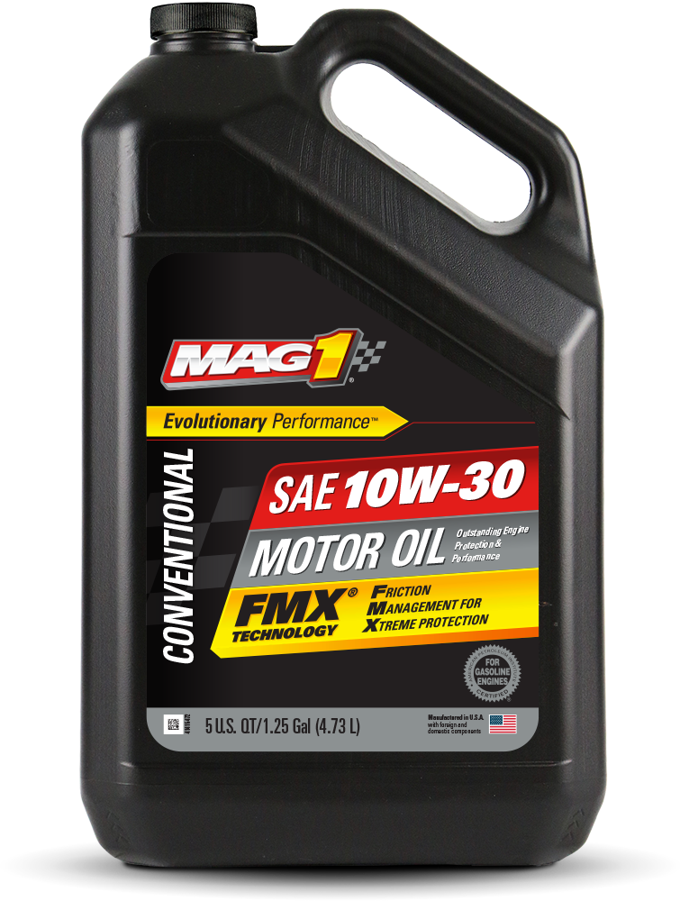 MAG 1® Conventional 10W-30 Motor Oil