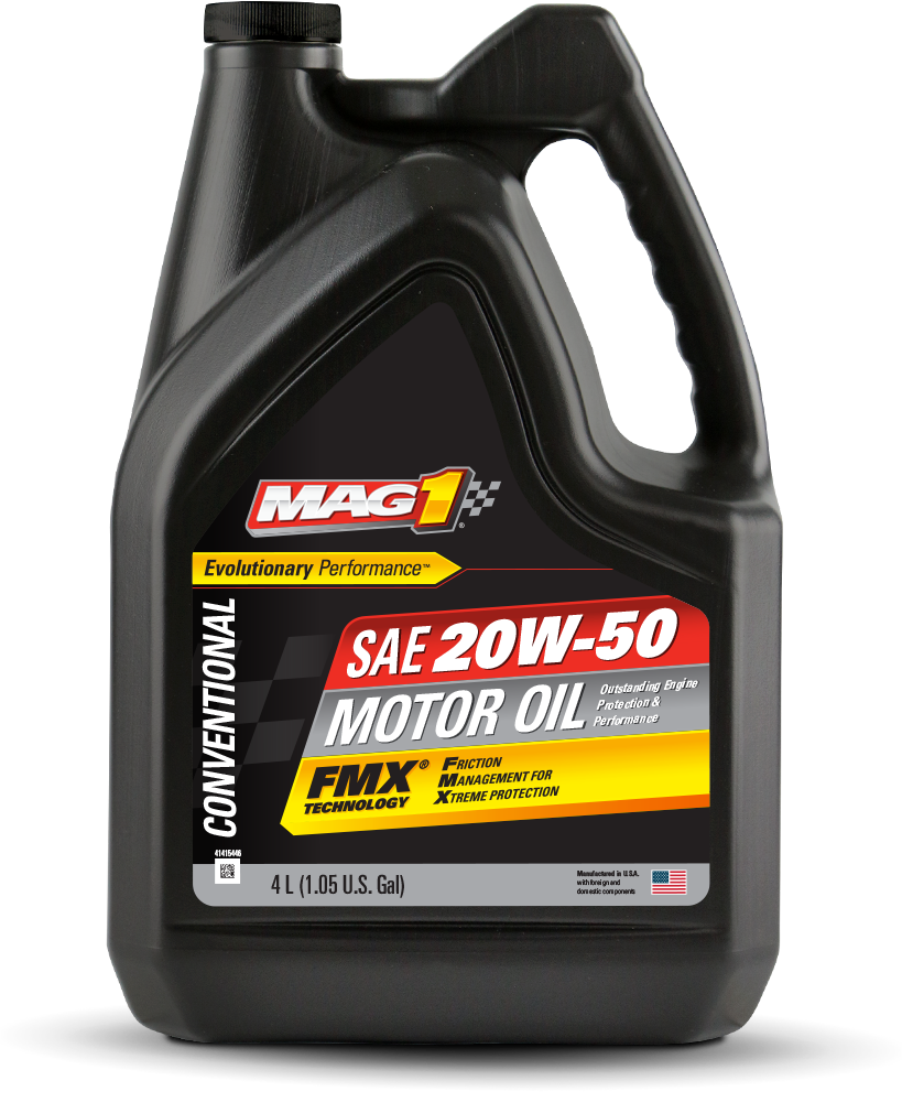 Mag 1 conventional 20w 50 motor oil for 20w50 motor oil temperature range