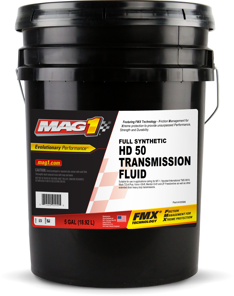 MAG 1® Full Synthetic HD 50 Transmission Fluid