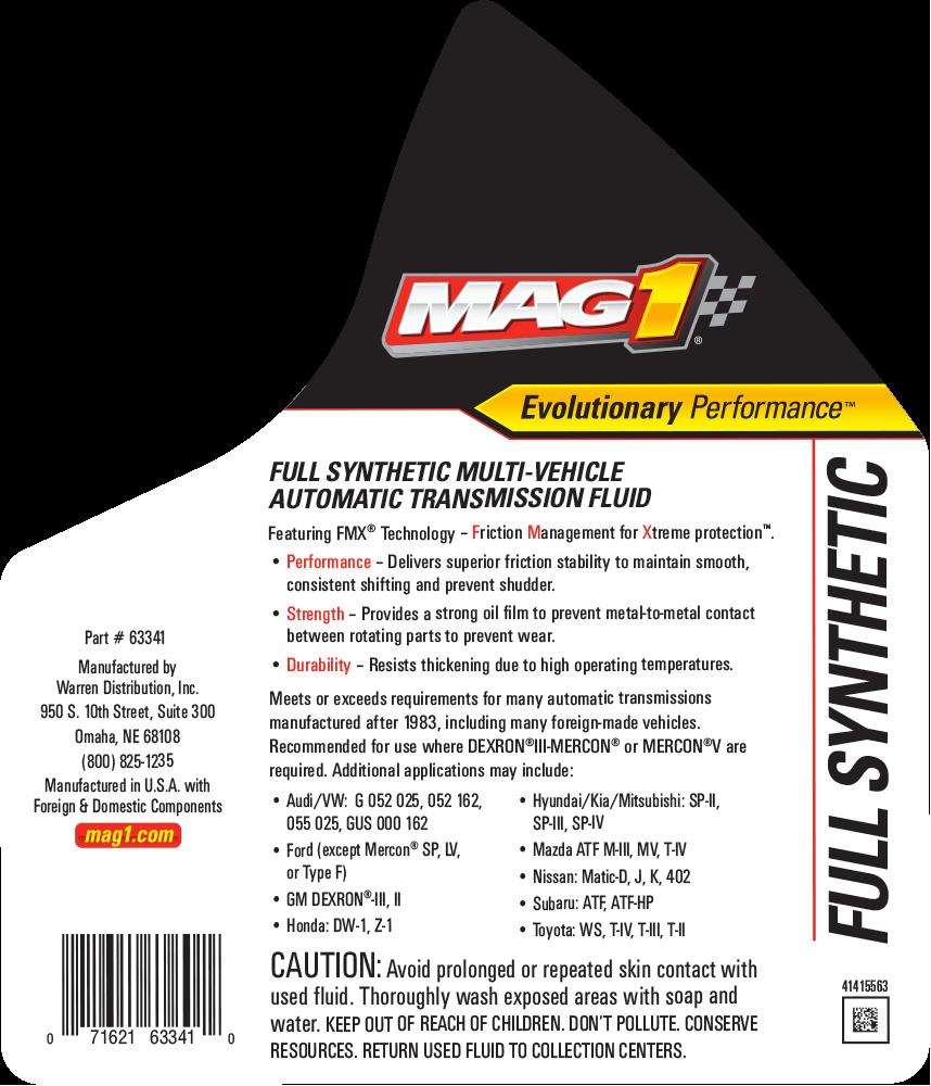 MAG 1® Full Synthetic Multi-Vehicle Transmission Fluid