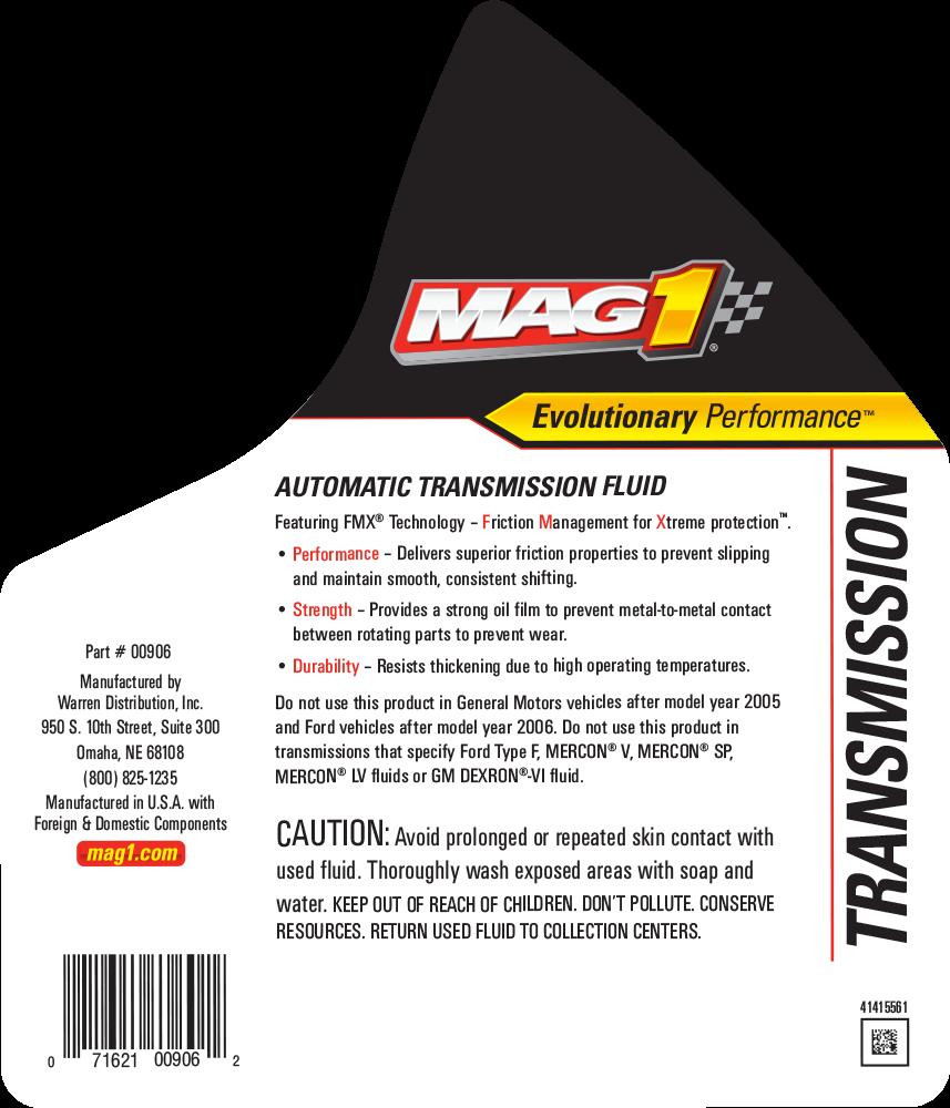 MAG 1® Automatic Transmission Fluid