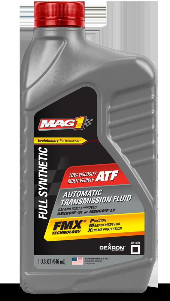 MAG 1® Low Viscosity Multi-Vehicle Transmission Fluid