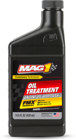 VehicleMaintenanceFluids_EngineOilAdditives_MAG1OilTreatment_14OZ_00184_front