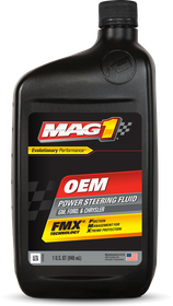 VehicleMaintenanceFluids_PowerSteeringFluid_MAG1OEMPowerSteeringFluid_1QT_62661_front